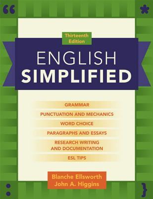 English Simplified By Ellsworth, Blanche/ Higgins, John A.